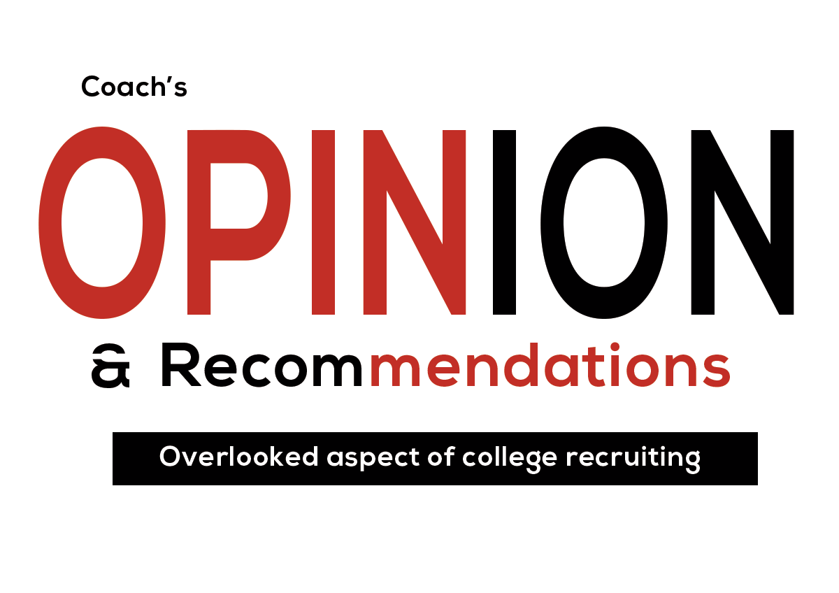 Coach's Opinion And Recruiting
